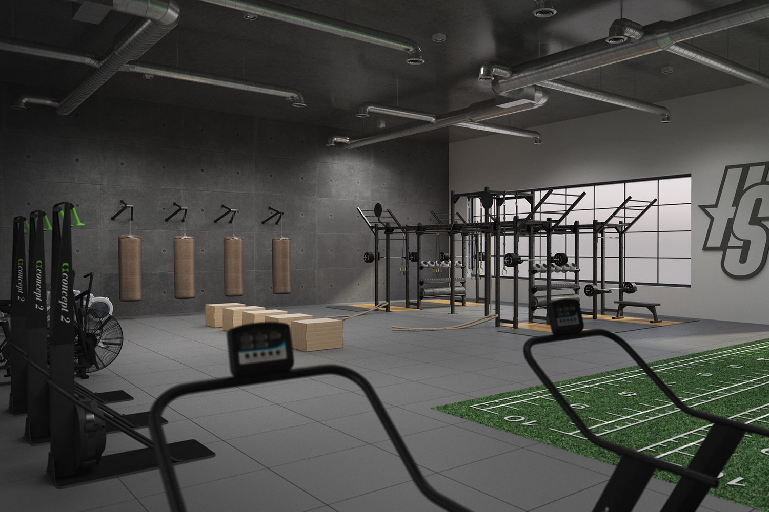 Performance Center - Gym flooring 1