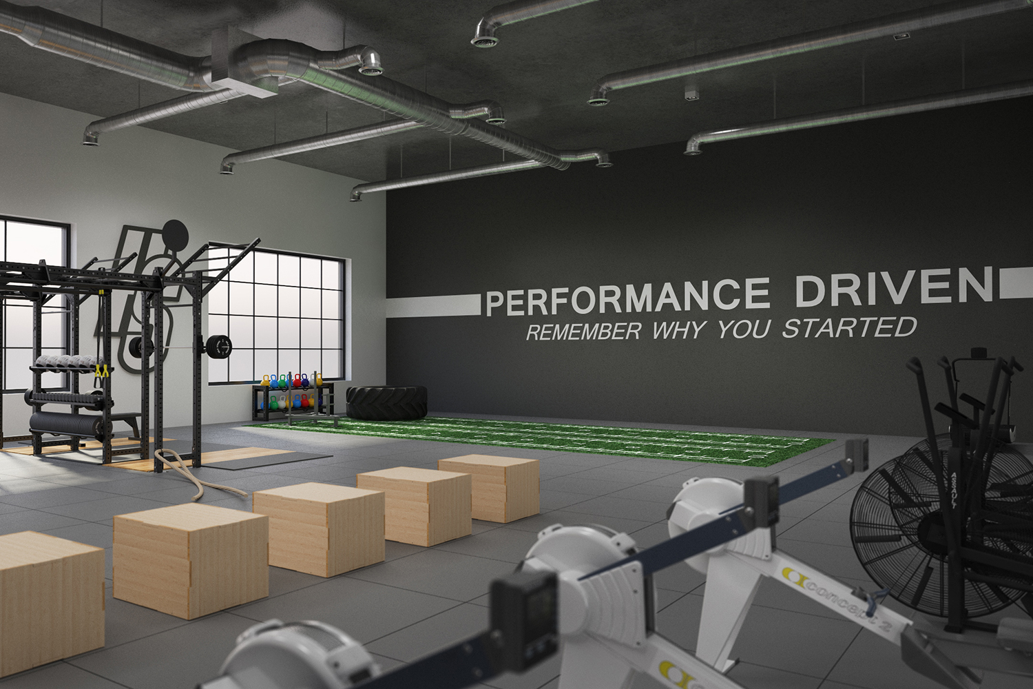 Performance Center - Gym flooring